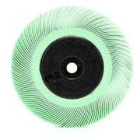 3M Radial Bristle Brush 6 in x 7/16 in x 1 in 1 Micron with Adapter-1EA