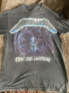 Metallica Ride The Lightning Tshirt Used