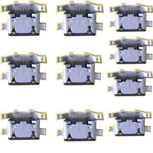 10pcs Micro USB Charging Sync Data Port for Motorola Moto G4 Plus XT1641 XT1644