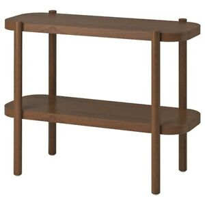 """IKEA LISTERBY Console table, brown 36 1/4x15x28 """" NEW"""