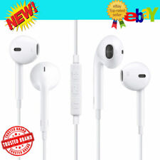 Headphones Earphones Earbuds With Remote & Mic For Apple iPhone 6S 6 5 5S W
