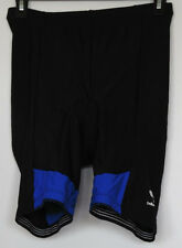 Bellwether Padded Black Nylon/Spandex Cycling Bike Shorts M Medium Made in USA