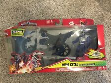 Power Rangers Dino Charge Dino Cycle and Blue Ranger Megazord Builder