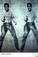 Hot Stuff Enterprise 677-24x36-PA Andy Warhol Elvis Poster