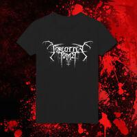 Forgotten Tomb Black Metal Doom metal Gothic Metal Hard Rock HD100 Black Tee