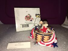 """Charming Tails """"Peace Is In The Stars"""" Signed By Dean Griff Nib"""