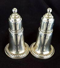 Vintage Reed & Barton Sterling Silver 925 Salt & Pepper Shakers 2pc 768