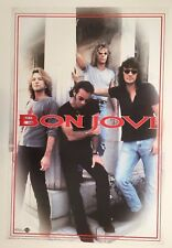 Bon Jovi,Photo By Mark Weiss, Rare Authentic Licensed 1996 Poster