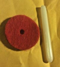 Spool Pin Felt Red #8879  10//Pack