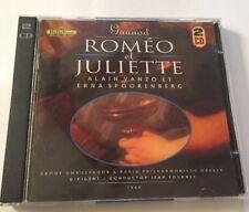 Romeo Et Juliette Music CD Alain Vanzo Et Erna Spoorenberg 2 Cd Set