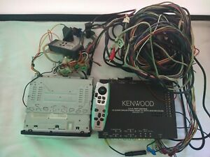 Kenwood KVT-911DVD, 5.1 ch DSP Control  in- Dash Touch Panel Wide TV with DVD Re