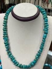 Genuine Natural Egyptian Turquoise Necklace 20""