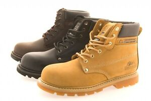 GROUNDWORK SAFETY BOOTS STEEL TOE CAP MENS WORK TRAINERS HIKING SHOES UK 7-12