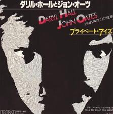 "7"" JAPAN MINT PRIVATE EYES DARYL HALL & JOHN OATES"