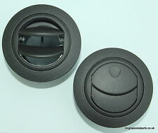 Pair of 60 mm  Air Vent Heater Duct Outlet suit Eberspacher Webasto ....FREEPOST
