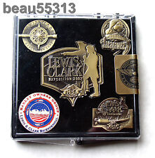 "2002 HARLEY DAVIDSON ""LEWIS & CLARK EXPEDITION "" HOG ON TOUR PIN SET"