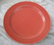 "Homer Laughlin Vintage Harlequin 12-1/4"" Round Chop Plate in Rose"