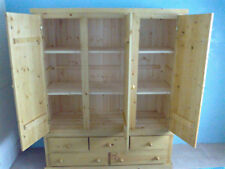 PINE FURNITURE AYLESBURY TRIPLE 5 DWR LARDER CUPBOARD THIS MONTHS STAR BUY!!!!!