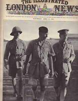 1941 London News April 12-Yugoslavia; Addis Ababa;Platt