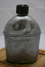 Vintage  WWII  USA Water Canteen Flask Bottle Aluminum Military,Vollrath