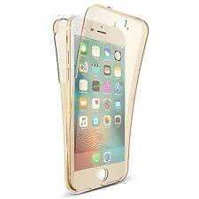 360° HANDY HÜLLE RUNDUM SCHUTZ iPhone7 Cover Tasche Silikon Case VORNE + HINTEN