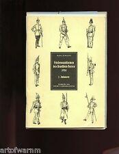 UNIFORMEN DES DEUTSCHEN HEERES 1914 GERMAN INFANTRY CAVALRY UNIFORMS  2 vols vg