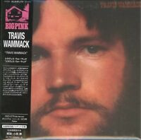 TRAVIS WAMMACK-S/T-IMPORT MINI LP CD WITH JAPAN OBI Ltd/Ed G09