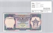 Ghana 500 Cedis 20 Avril 1989 n° 1146432 Pick 28b