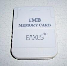 Playstation Memorycard PS1 EAXUS 1 MB Memory Card - Speicherkarte (sk18)