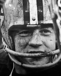 JIM TAYLOR 8X10 PHOTO GREEN BAY PACKERS PICTURE NFL FOOTBALL MUDDY