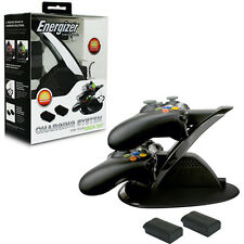 Xbox 360 Charger Energizer Charge Station with 2X Batteries (PDP) Brand New