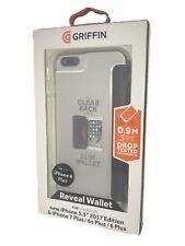 100% Nuevo Original Griffin Reveal Billetera Estuche Cubierta para 7+ 6s+ 6+ iPhone 8 Plus