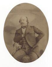 Portrait d'un homme Vintage albumine ca 1865