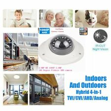 1080P HD 2.0MP AHD TVI CVI 180 degree Fisheye lens 12PCS IR Dome Security Camera