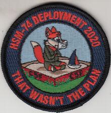 Hsm-74 Deployment 2020 That Wasn'T My Plan Shoulder Patch