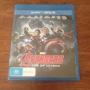 Avengers Age of Ultron Blu-Ray LIKE NEW! FREE POST