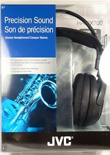 HARX700  JVC High-Grade Full-Size Headphone, Black, Deep bass sound, 50mm driver
