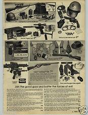 1979 PAPER AD Toy Star Wars Chips Gun Rifle Lone Ranger Daisy TrailRider Helmet