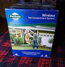 PetSafe Official PIF-300 Wireless Dog Fence Outdoor Containment System Open Box