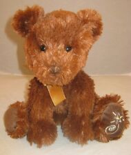 Russ Shinning Stars Brown Bear Plush Teddy Stuffed 7P4 Animal Toy Lovey Cuddly