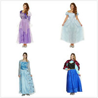 Adult Disney Princess Dress Cosplay Party Formal Dress Fancy Full Dress Ladies