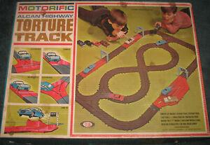 Ideal Motorific Alcan Highway Torture Track Set  (no box)