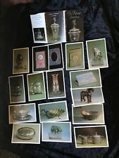 Karl Faberge Russian Imperial Jewellery Figurine Dish Egg Horse 16 Postcards Set