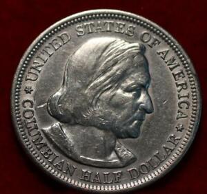 1893 Philadelphia Mint Columbian Expo Silver Comm Half