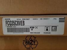 DAIKIN FCQ35C8VEB round flow ceiling cassette 882 x 882 x 220 mm