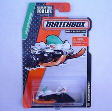 2014 Matchbox 118/120. SNOW RIPPER Snow Mobile. MBX Explorer. SEALED Package!