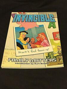 Invincible: Family Matters TPB Graphic Novel Vol. 1