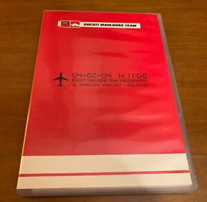 DVD Ducati Marlboro Team Presentation 2004 raro collezione introvabile originale