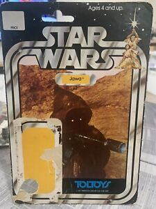 Star Wars vintage cardback - Toltoys 20 back Jawa - no PoP