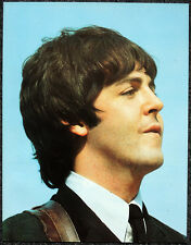 THE BEATLES POSTER PAGE . 1964 US TOUR PAUL MCCARTNEY .V13